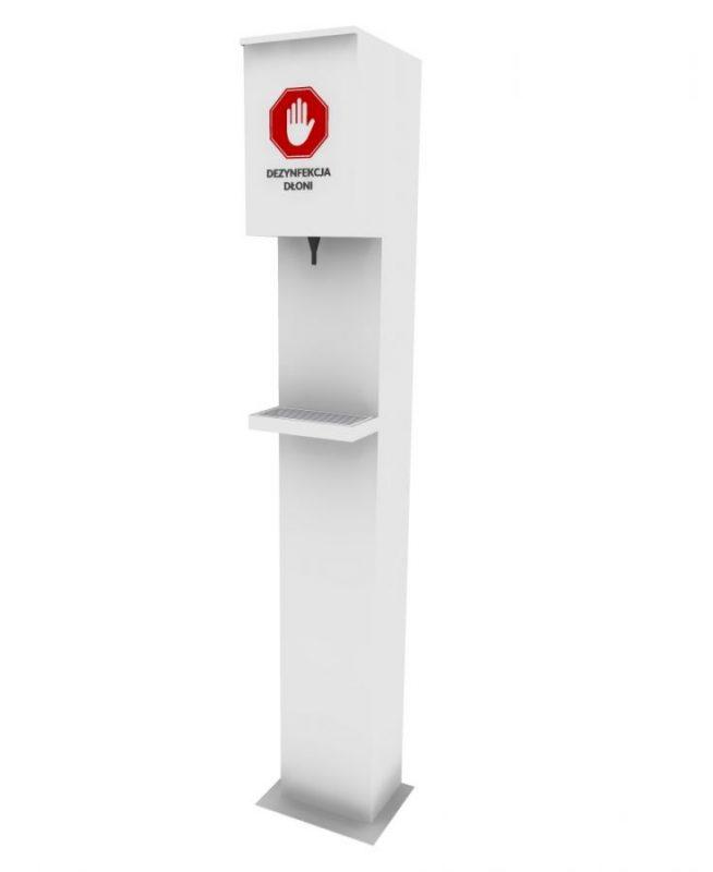 Automatyczny dozownik płynu dezynfekcyjnego