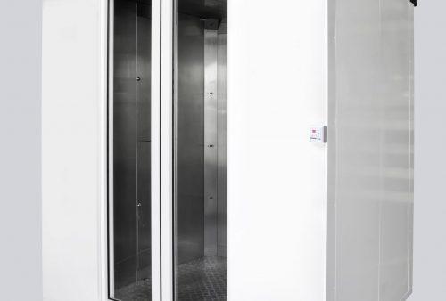automatyczna, mobilna kabina dezynfekująca EPIDEMIC 1 - tył