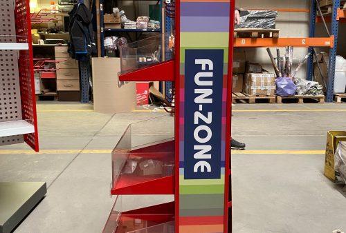 Stojak mobilny Fun-Zone