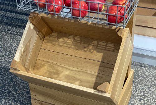 stojak na warzywa i owoce