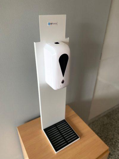 nablatowy automatyczny dozownik płynu dezynfekującego