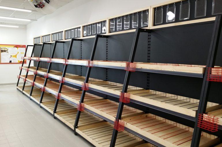 Instalacja Bistro w Delikatesach Centrum w Jaśle