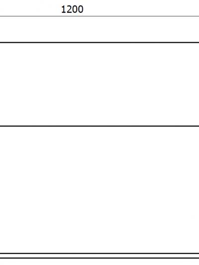 donica - wymiary gabarytowe